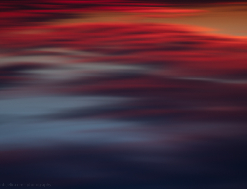RED SUNSET – ABSTRACT PHOTOGRAPHY – LEON BIJELIC