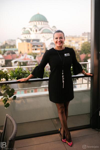 ROTARY CLUB BELGRADE - HOTEL CRYSTAL - BEOGRAD - HRAM SVETOG SAVE - LJILJANA LATINOVIĆ