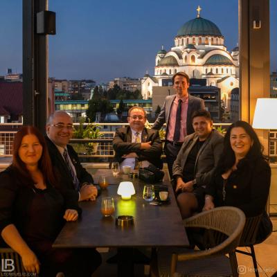 ROTARY CLUB BELGRADE - HOTEL CRYSTAL - BELGRADE - BEOGRAD - HRAM SVETOG SAVE