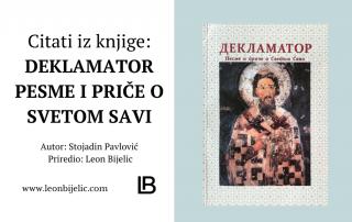 Pesme i priče o Svetom Savi - Deklamator - Citati iz knjige