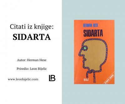 Sidarta - Herman Hese - Citati iz knjige